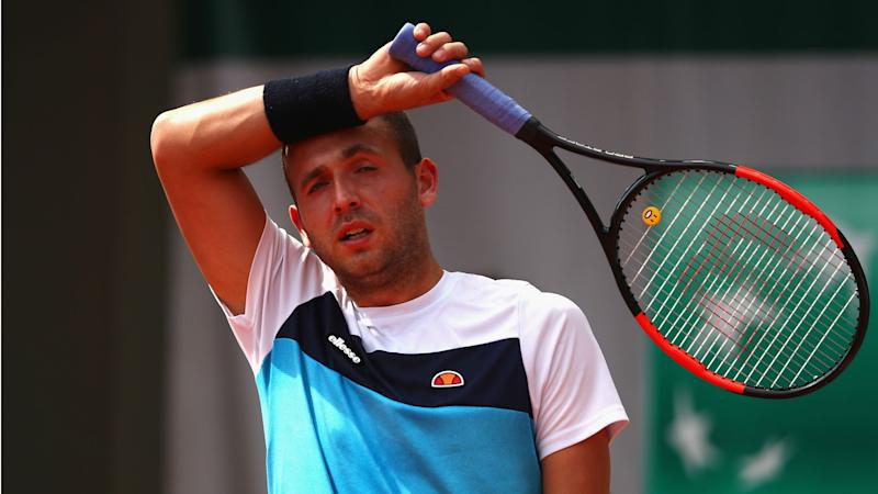 Dan Evans receives one year cocaine ban
