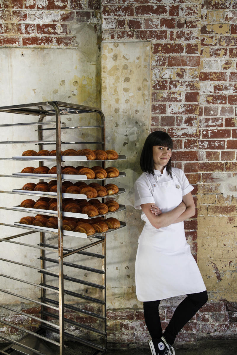Kate Reid, founder of Lune Croissanterie. (PHOTO: Lune Croissanterie)