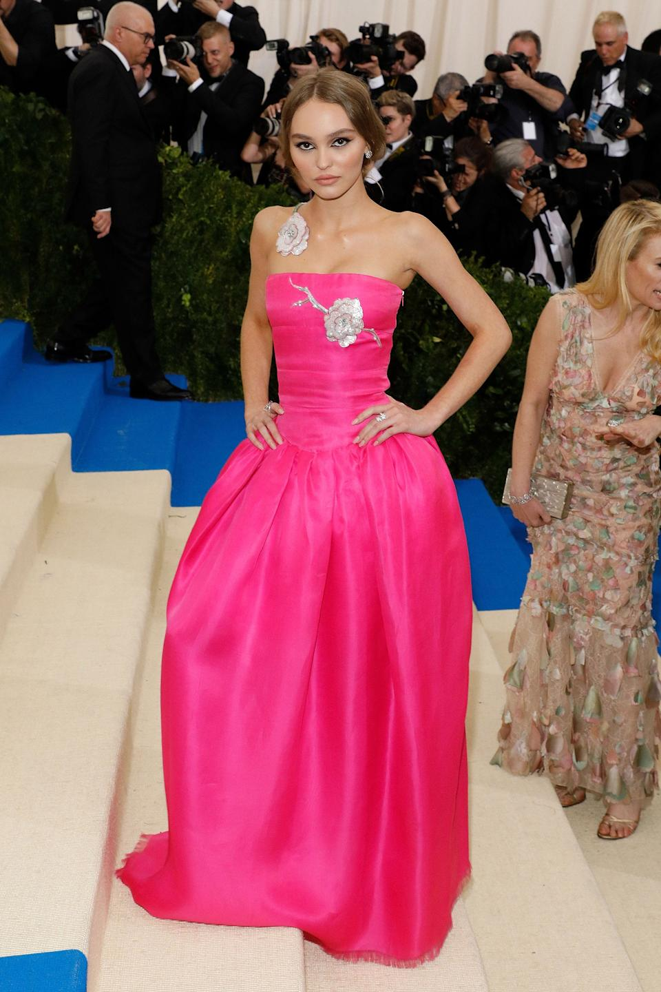 """<h1 class=""""title"""">Lily Rose Depp in Chanel, 2017</h1><cite class=""""credit"""">Photo: Getty Images</cite>"""