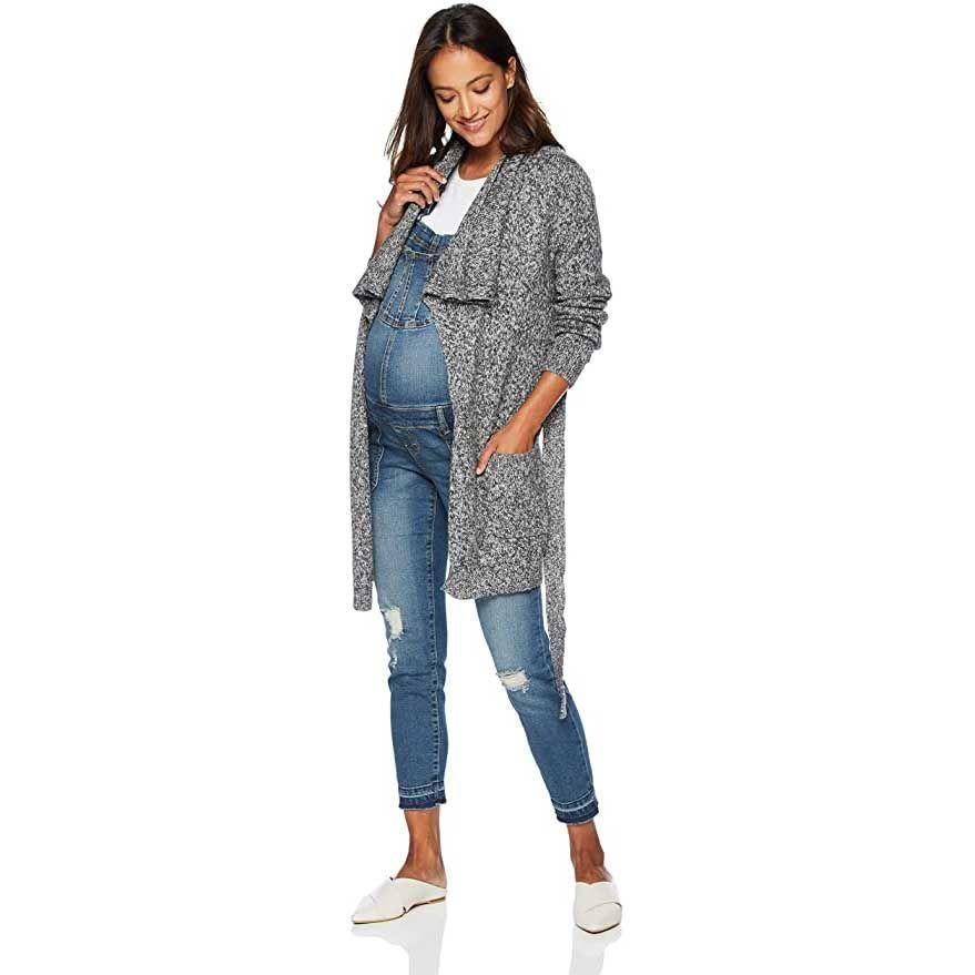 """<p><a class=""""link rapid-noclick-resp"""" href=""""https://www.amazon.com/stores/Motherhood+Maternity/page/2C8DD395-B7EF-4220-A4A2-3819A3B60A1F?tag=syn-yahoo-20&ascsubtag=%5Bartid%7C10055.g.34481970%5Bsrc%7Cyahoo-us"""" rel=""""nofollow noopener"""" target=""""_blank"""" data-ylk=""""slk:SHOP NOW"""">SHOP NOW</a></p><p>For layering pieces that let you create endless outfits, Motherhood Maternity is a<strong> one-stop shop with all of the essentials and must-haves to wear throughout your pregnancy. </strong>The brand offers everything from casual clothes to outfits for work along with your loungewear, outerwear and underwear. The pricing is affordable and many pieces are under $50, but it's also not cheap so you can expect it to last despite wearing it over and over (and over) again. We also love that it's available in regular, tall, petite and plus sizes so there's something for everyone.</p>"""