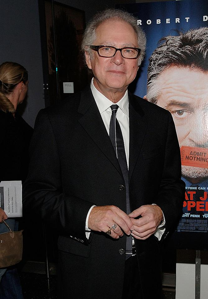 "Director <a href=""http://movies.yahoo.com/movie/contributor/1800017711"">Barry Levinson</a> at the New York premiere of <a href=""http://movies.yahoo.com/movie/1809739709/info"">What Just Happened</a> - 10/01/2008"