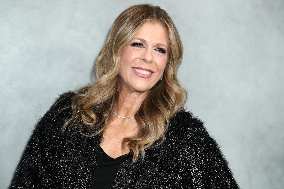 LOS ANGELES, CALIFORNIA - OCTOBER 12: Rita Wilson attends 2019 Hammer Museum Gala In The Garden at Hammer Museum on October 12, 2019 in Los Angeles, California. (Photo by Leon Bennett/WireImage)