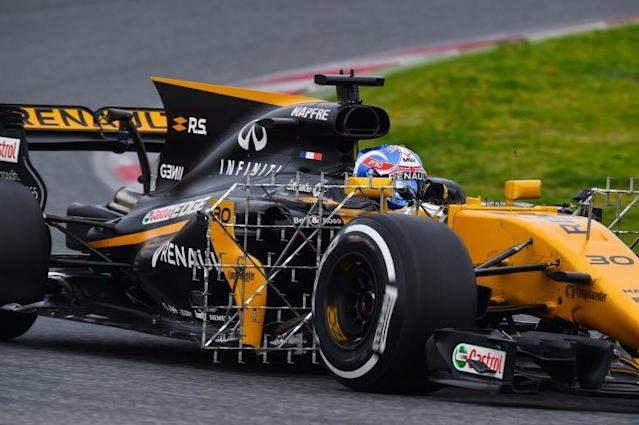 Hanging in there:Jolyon Palmer has done well to stay in F1 after a patchy debut season