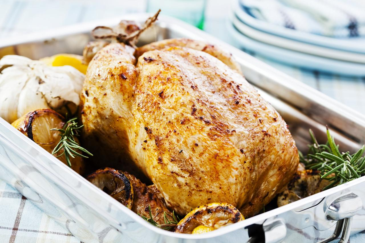 <p>If you're cooking with a conventional oven, you can still achieve an amazing roast by rotating and basing often, according to Ginet. All ovens tend to have a hot spot, so rotating and basting halfway through their cooking time will guarantee an evenly browned and juicy roast all around.</p>