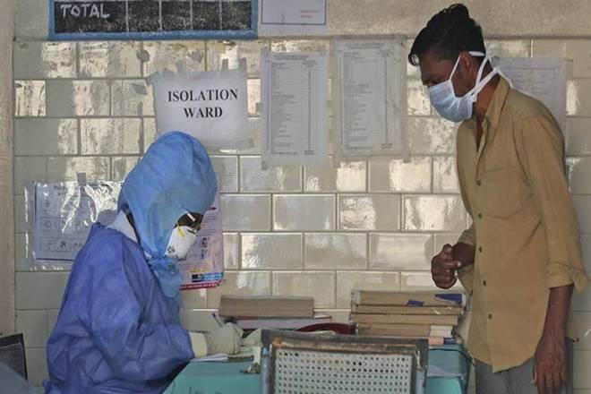 Three people, including a lady health worker, is reported to have acquired infection by interacting with the patients.