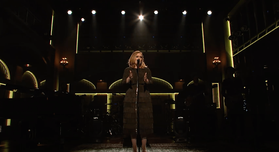 old Adele snl album performance from 2015
