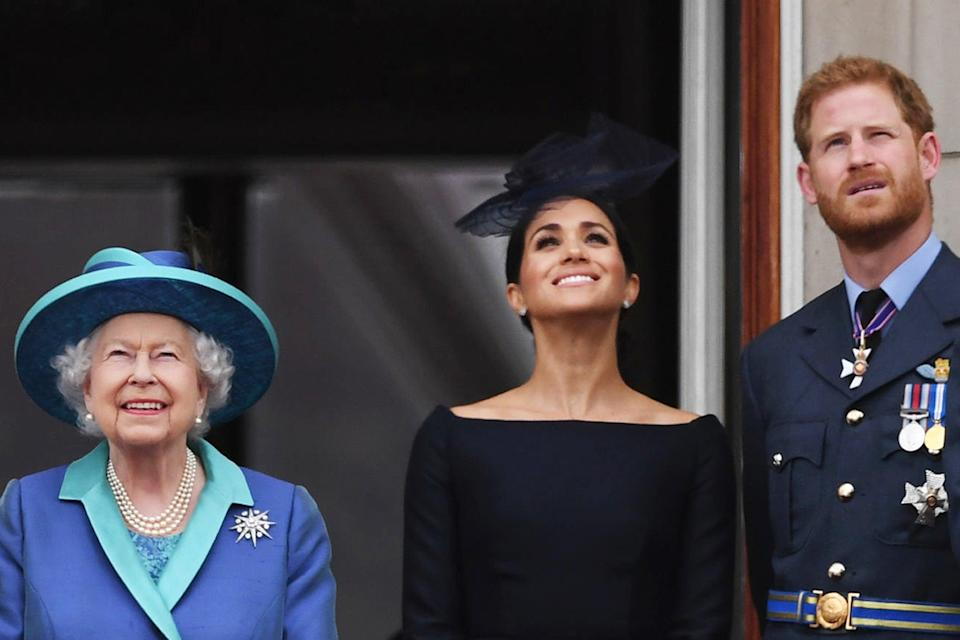 <p>Harry and Meghan welcomed their daughter into the world on Friday morning</p> (PA)