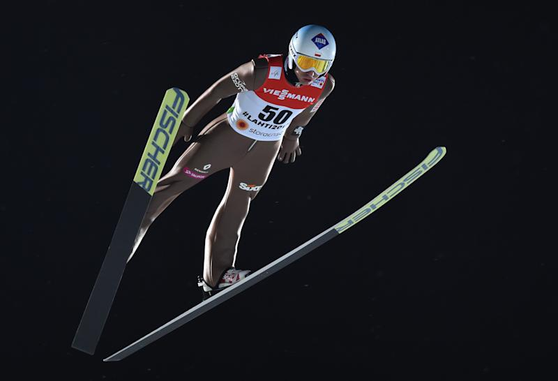 Ski jumping - Poland take world team gold on big hill