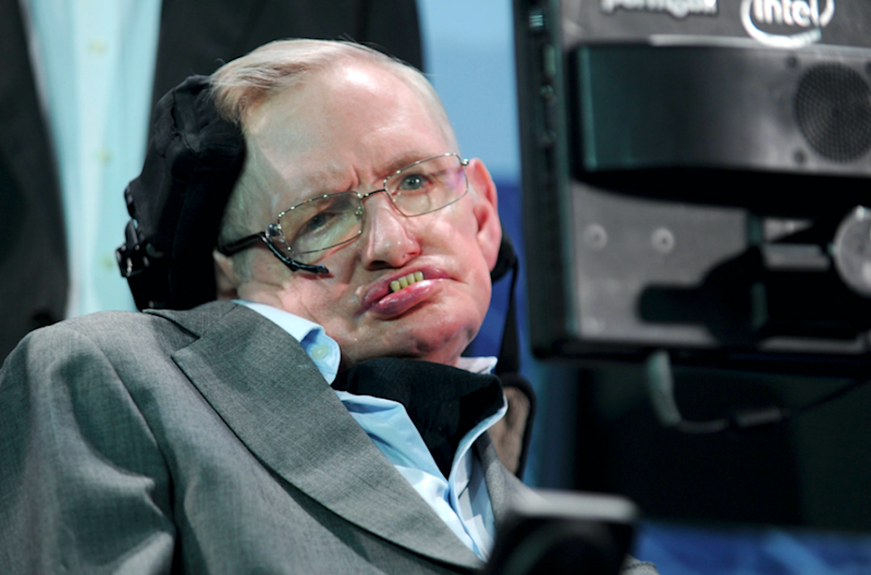 Professor Hawking says human survival depends on finding a new home. Photo: AP