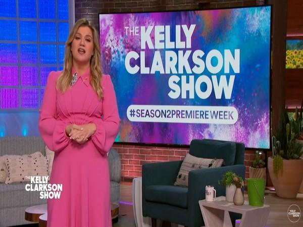 A still from 'The Kelly Clarkson Show' (Image courtesy: Youtube)