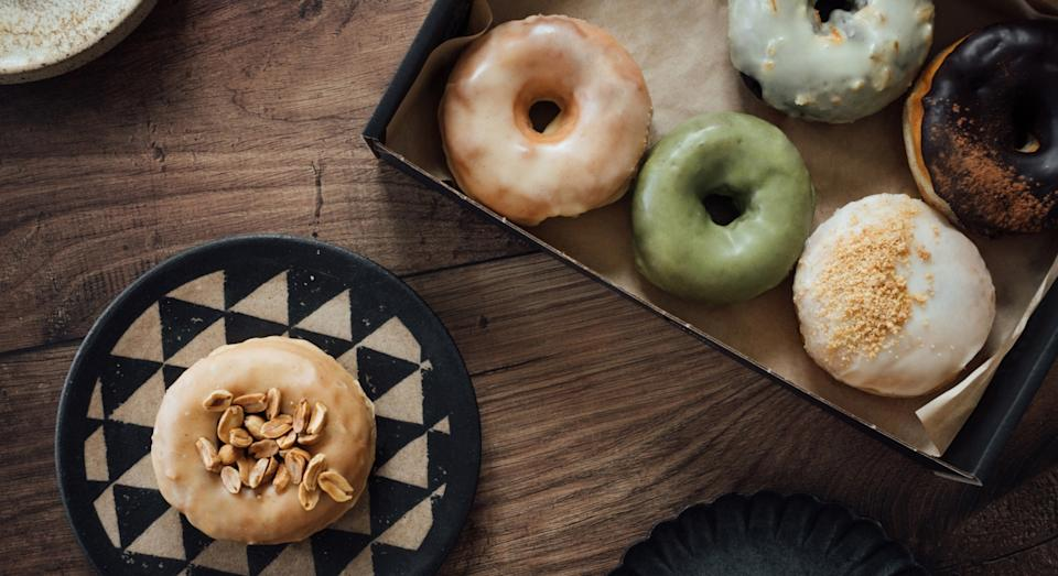 We'll be reaching for doughnuts when we want a comforting treat this year (Getty)