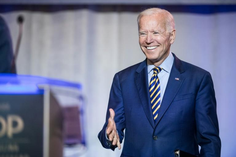 Former vice president Joe Biden has lost support among Democrats since the presidential candidate debates, according to new polls (AFP Photo/Sean Rayford)