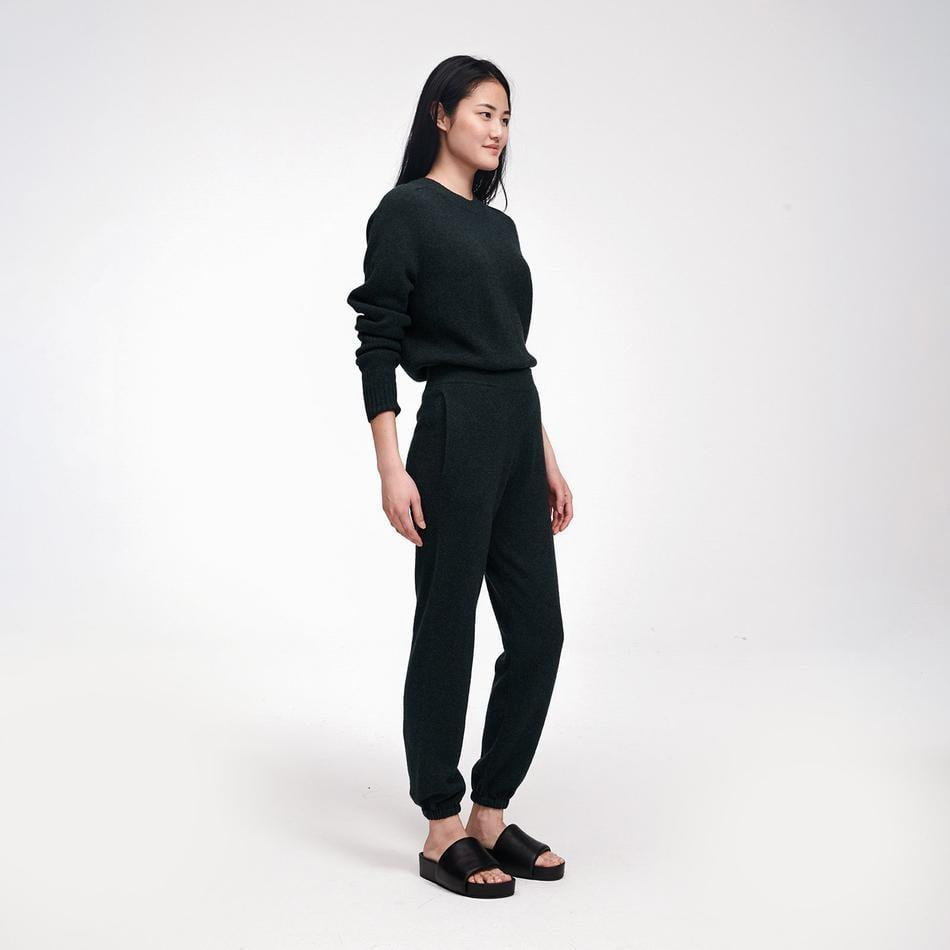 <p>If you need us, we'll be in this <span>Naadam Recycled Cashmere Jogger</span> ($195) and <span>Crewneck Sweater</span> ($195).</p>