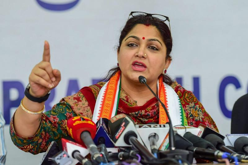 Congress Doesn't Want Intelligent Women, They Disrespected Me: Khushbu Sundar After Joining BJP