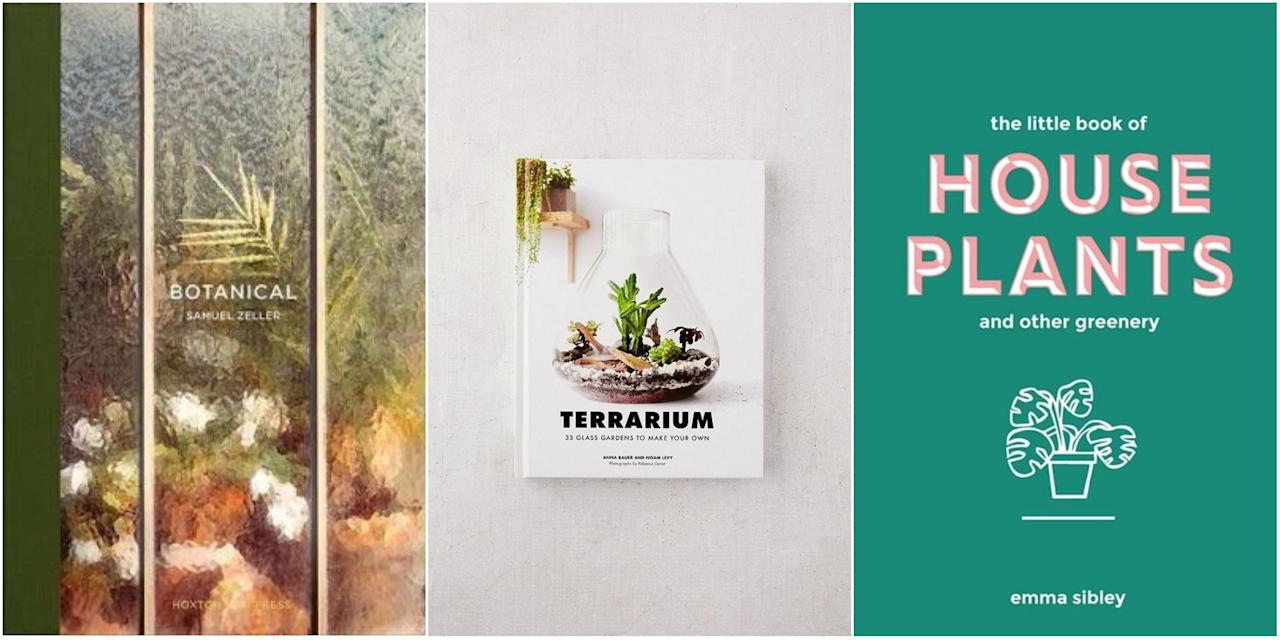 The Best Indoor Plant Books To Gift Your Terrarium Obsessed Friends