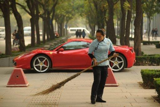 "Online searches for the words ""Ferrari crash"" have been blocked in China since Ling Jihua's son was involved in a crash"