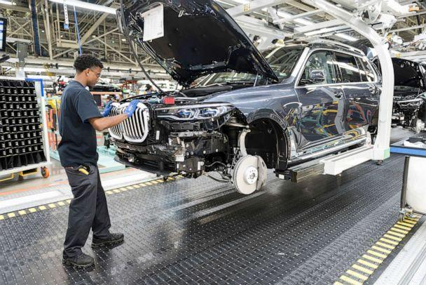 PHOTO: Nearly 357,000 BMWs were produced in 2018 at the Spartanburg Plant. (BMW)