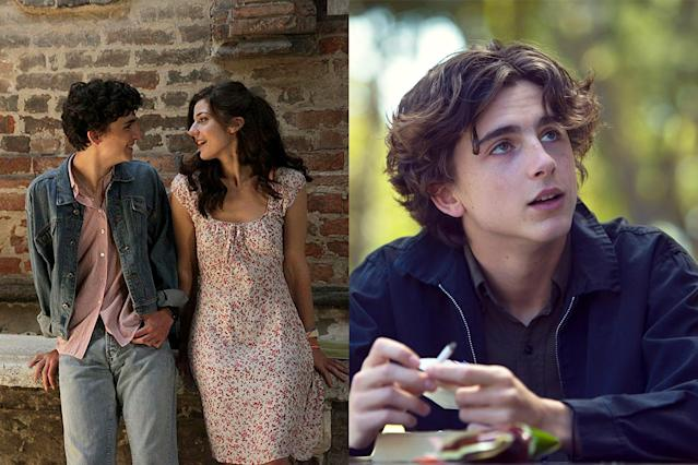 <p>Too soon, man, too soon. That's what we felt like telling Timothée Chalamet after his twin sexual encounters in <em>Call Me by Your Name</em> and <em>Lady Bird</em>. Both times, the 22-year-old actor rose to the occasion only to… um, shrink in the spotlight. It takes a brave man to admit his shortcomings, but not just once, but <em>twice</em>. (Photo: Sony Pictures/courtesy Everett Collection) </p>