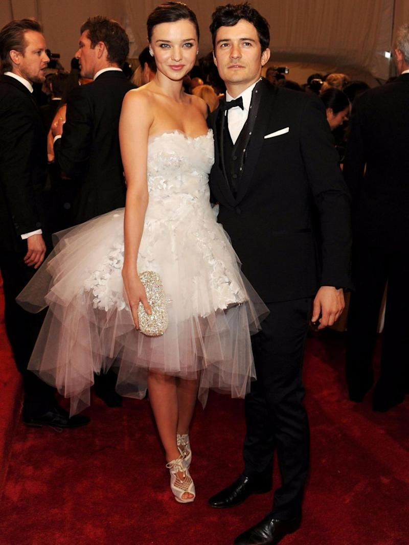 It's not Miranda's first wedding - she used to be Orlando Bloom's wife. Source: Getty