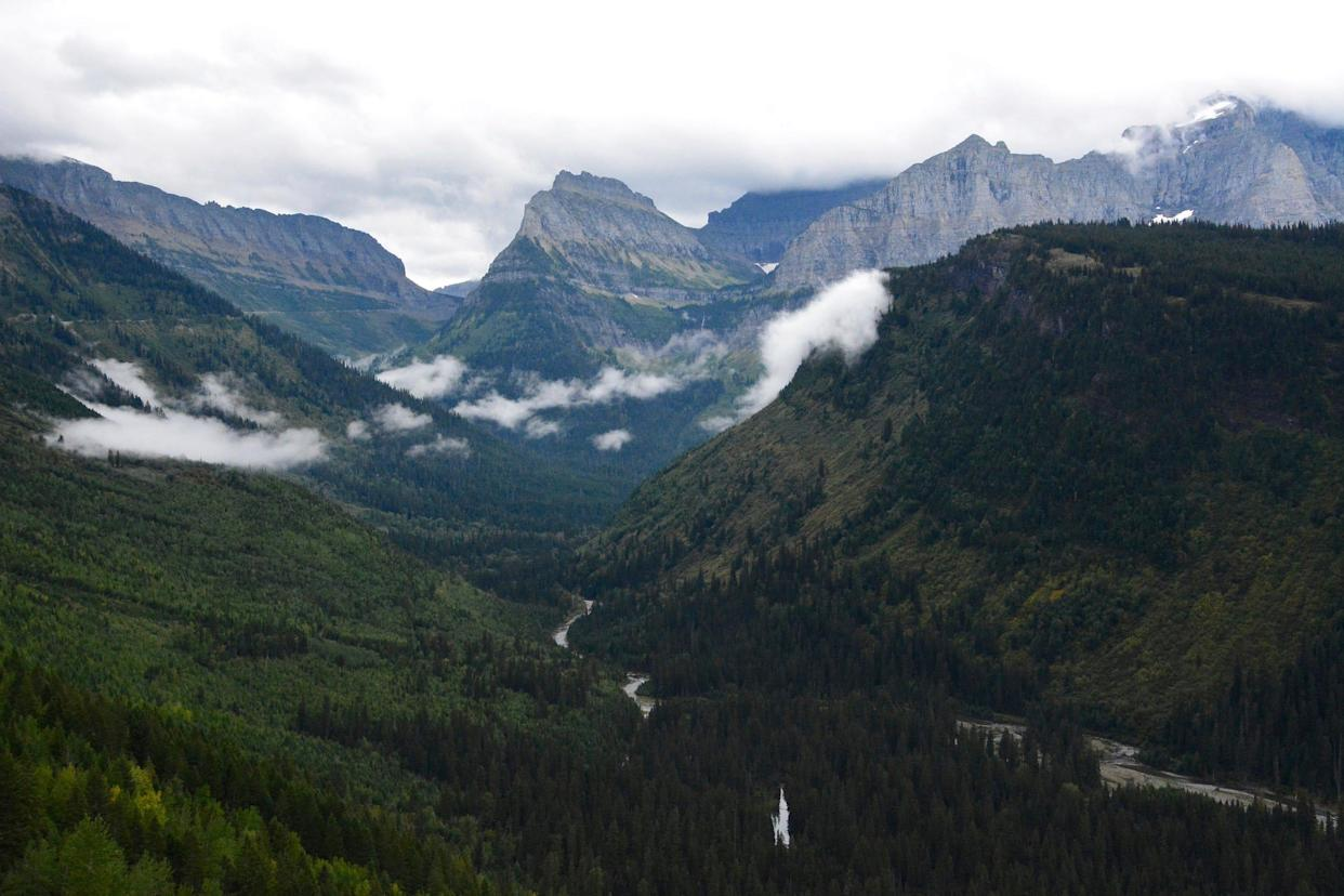 This Sept. 6, 2016 file photo shows the view from Going-to-the-Sun Road in Glacier National Park, Mont.