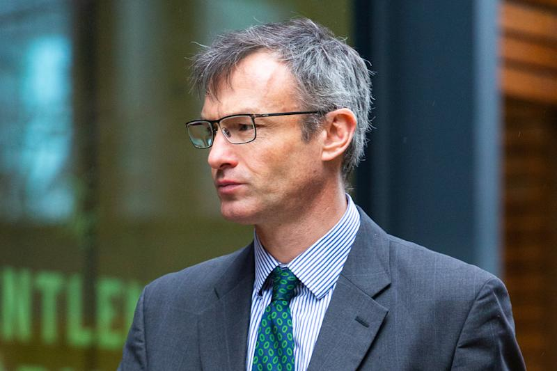 Rob Clegg admits an affair but claims he 'did not discriminate against, bully or harass' Madeleine Luckham (SWNS)