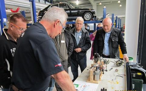 'classic virgins' workshop session for those thinking of buying a classic car - British Motor Museum