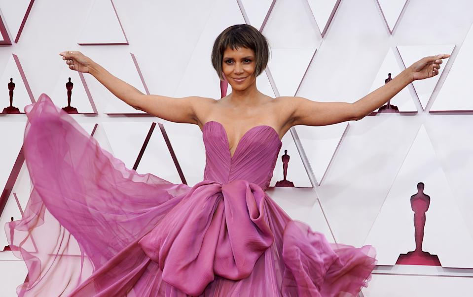 Halle Berry, here at the 2021 Oscars, reflects on her film and television career.