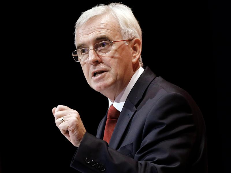 John McDonnell and Jeremy Corbyn announced a raft of new progressive measures to protect British workers as they close the Tories' significant lead in the polls: PA