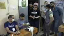 Polls close after Iraqis vote in a parliamentary election (AFP/Ayman HENNA)