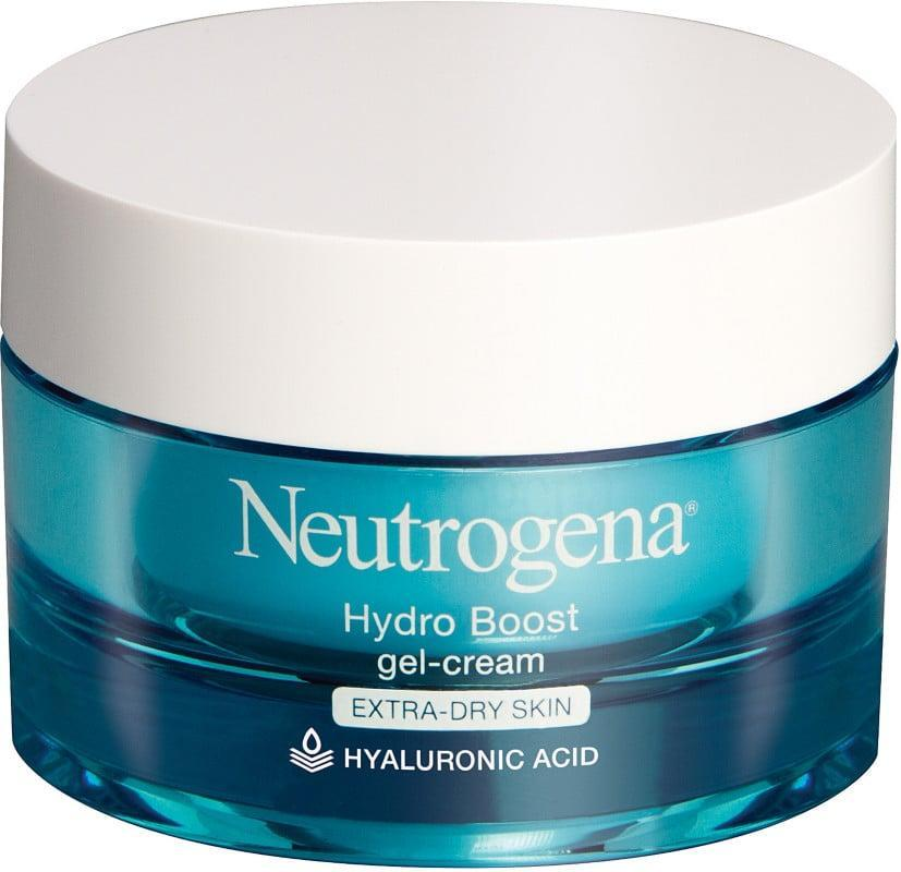 """<p>I was skeptical about this so-called """"gel-cream"""" for your face, but I'm a believer now. Packed with hyaluronic acid (aka a moisture-trapping skin plumper), this milky gel is surprisingly effective. Plus, it will cool you down if you may have gotten too much sun that day.</p> <p><span>Neutrogena Hydro Boost Gel-Cream</span> ($25)</p>"""