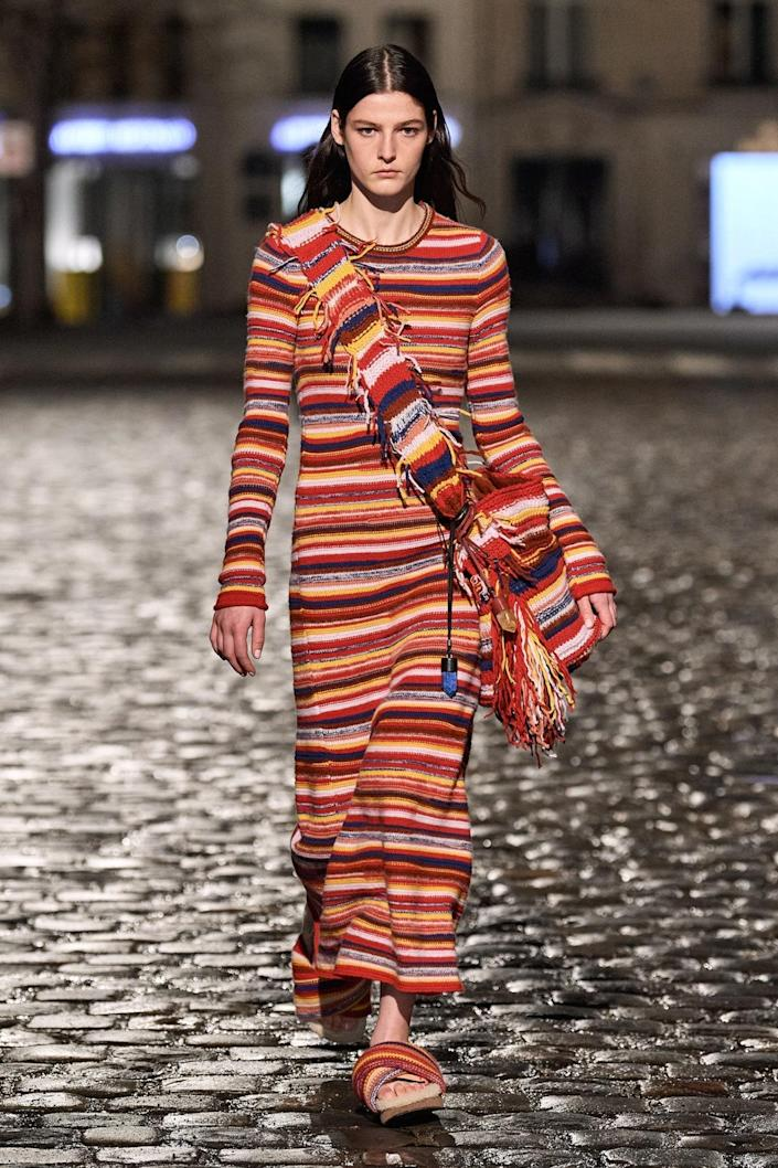 """<cite class=""""credit"""">Chloé Fall/Winter 2021 Collection; courtesy of Chloé</cite>"""