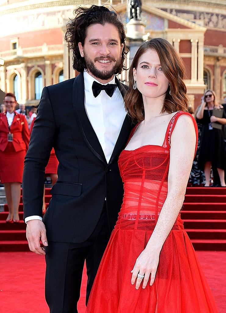 Kit Harington and Rose Leslie are engaged. (Photo: Getty Images)
