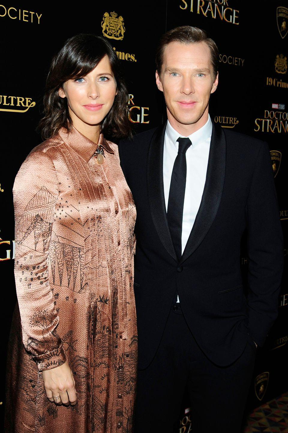 <p>When the internet's boyfriend Benedict Cumberbatch and his wife look directly into the cameras, it's like the same pair of eyes is staring into your soul twice.</p>