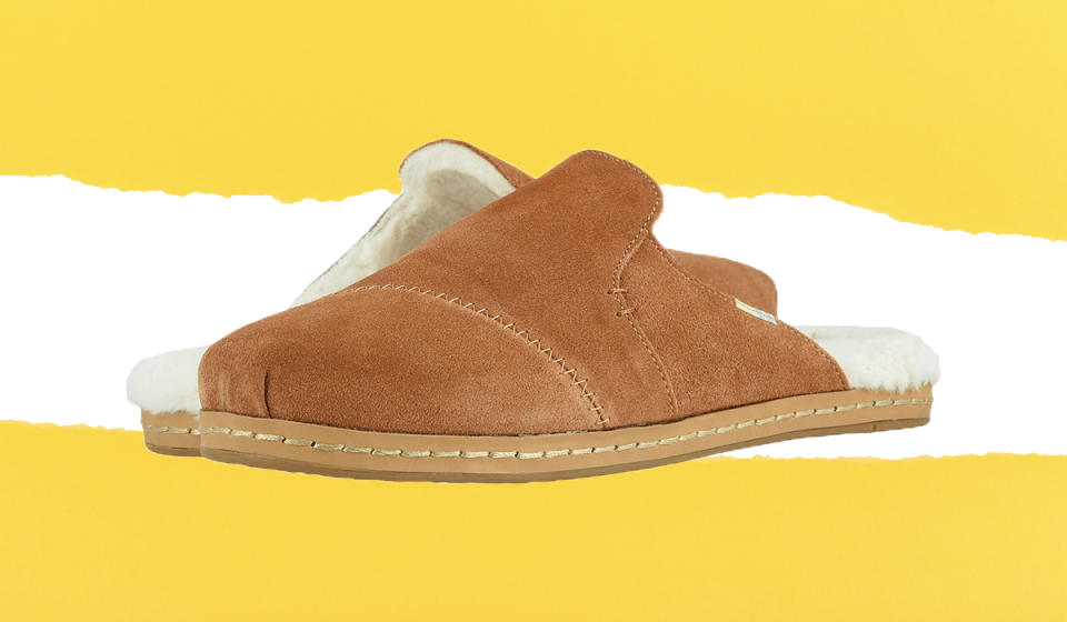 For each pair bought, Toms donates a pair to a child in need. (Photo: Zappos)