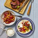 """<p>You probably have a favorite fajita recipe on hand, but this seasoned, air-fried steak will undoubtedly upgrade your go-to. </p><p><em><a href=""""https://www.goodhousekeeping.com/food-recipes/a34220896/steak-fajitas-recipe/"""" rel=""""nofollow noopener"""" target=""""_blank"""" data-ylk=""""slk:Get the recipe for Steak Fajitas »"""" class=""""link rapid-noclick-resp"""">Get the recipe for Steak Fajitas »</a></em></p><p><strong>RELATED: </strong><a href=""""https://www.goodhousekeeping.com/life/entertainment/g28505927/best-air-fryer-cookbooks/"""" rel=""""nofollow noopener"""" target=""""_blank"""" data-ylk=""""slk:The Best Air Fryer Cookbooks for Beginners"""" class=""""link rapid-noclick-resp"""">The Best Air Fryer Cookbooks for Beginners</a></p>"""