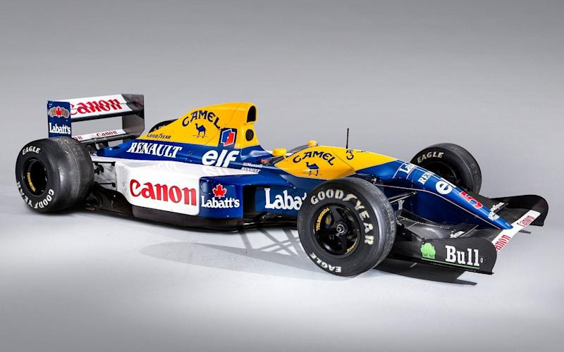ex-Nigel Mansell 1992 Williams FW14B - Bonhams Goodwood Festival of Speed sale 2019 - simonclay.com
