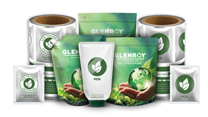 Family of sustainable flexible packaging options from Glenroy, Inc.