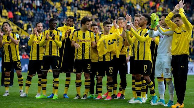 There was an additional police presence around Dortmund's Signal Iduna Park Saturday but the match against Eintracht Frankfurtthe second to be played in the stadium in the five days following the bomb attack on the players' bus last Tuesdaywent off with several positives for the host.