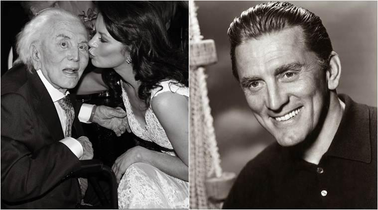 celebrity tribute kirk douglas