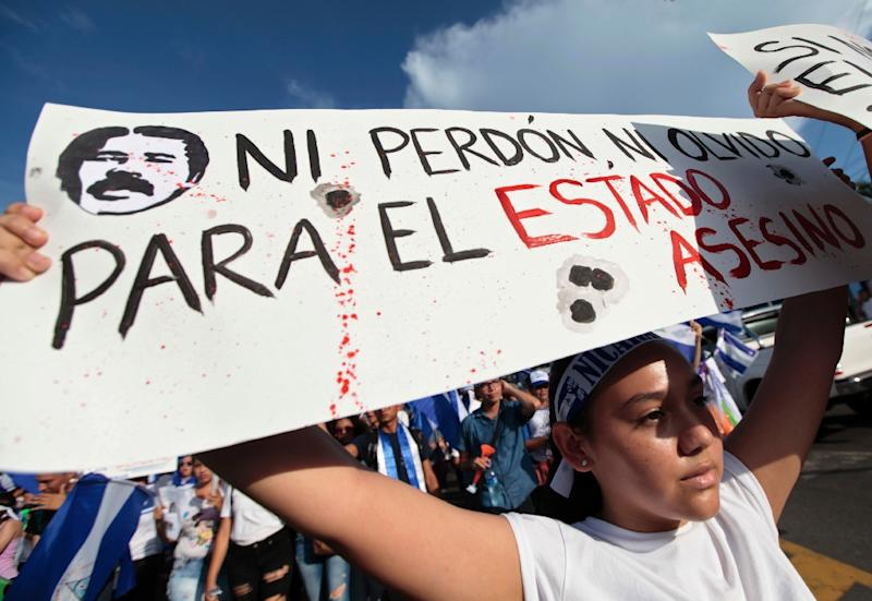 Students are in the forefront of Nicaragua's anti-government demonstrations
