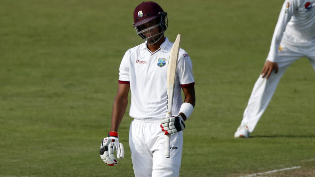 West Indies were in huge trouble before Roston Chase came to their rescue in the second Test against Pakistan.