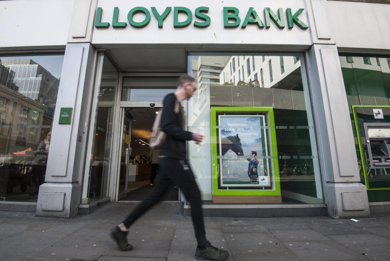 File photo dated 27/04/17 of a general view of a Lloyds Bank. Managers from the bank have come under fire from a judge over the way they dealt with a woman whose student current account went nearly ??1,000 overdrawn.