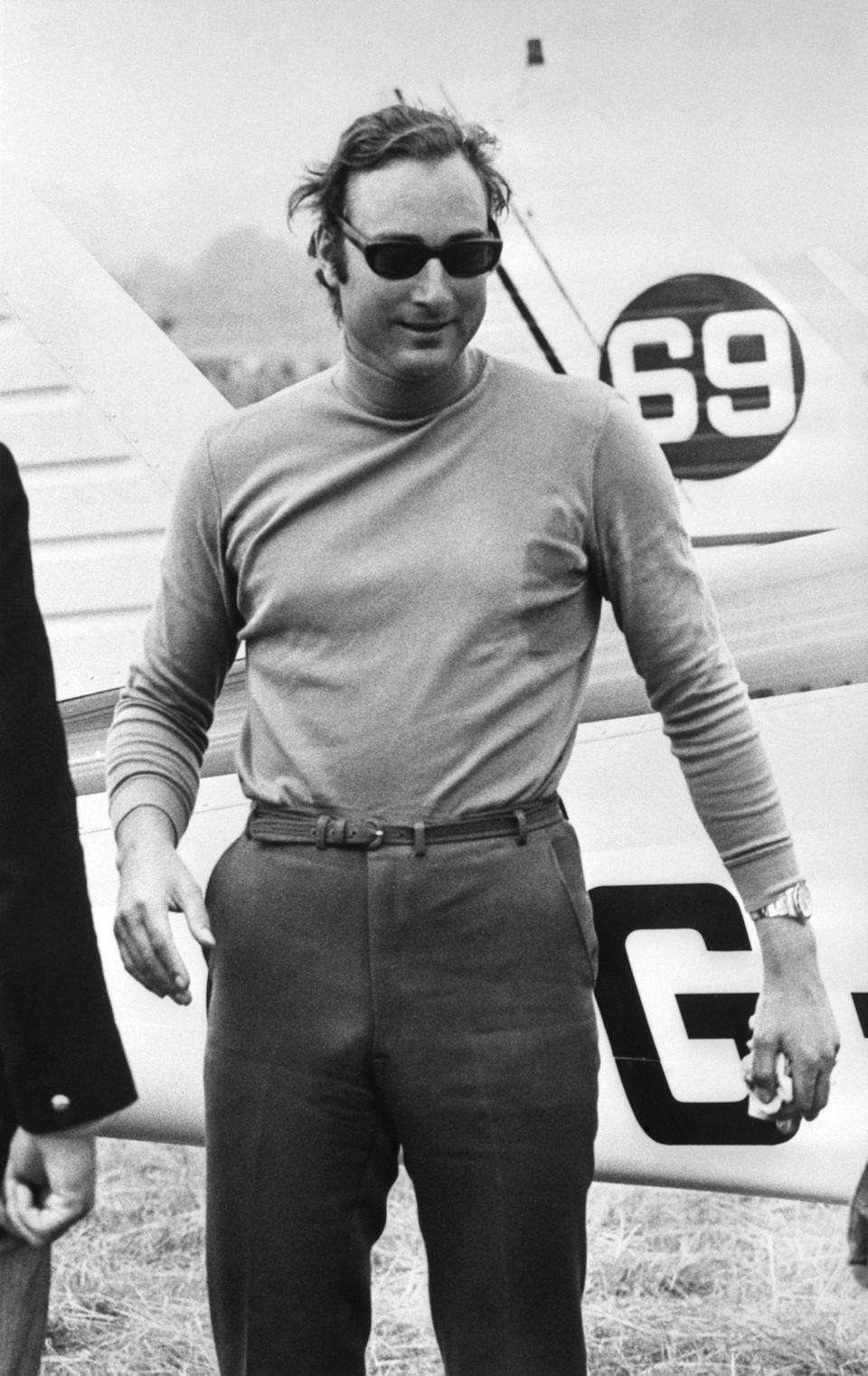 Prince William of Gloucester shortly before competing in the Goodyear Air Race which was to lead to his death after crashing in the event.   (Photo by PA Images via Getty Images)