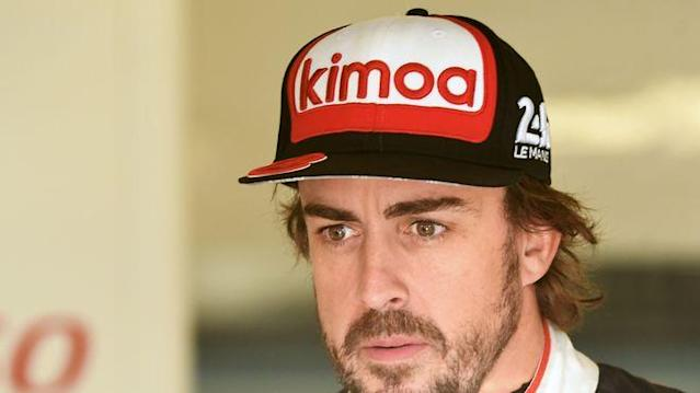 Fernando Alonso started in Le Mans von der Pole-Position