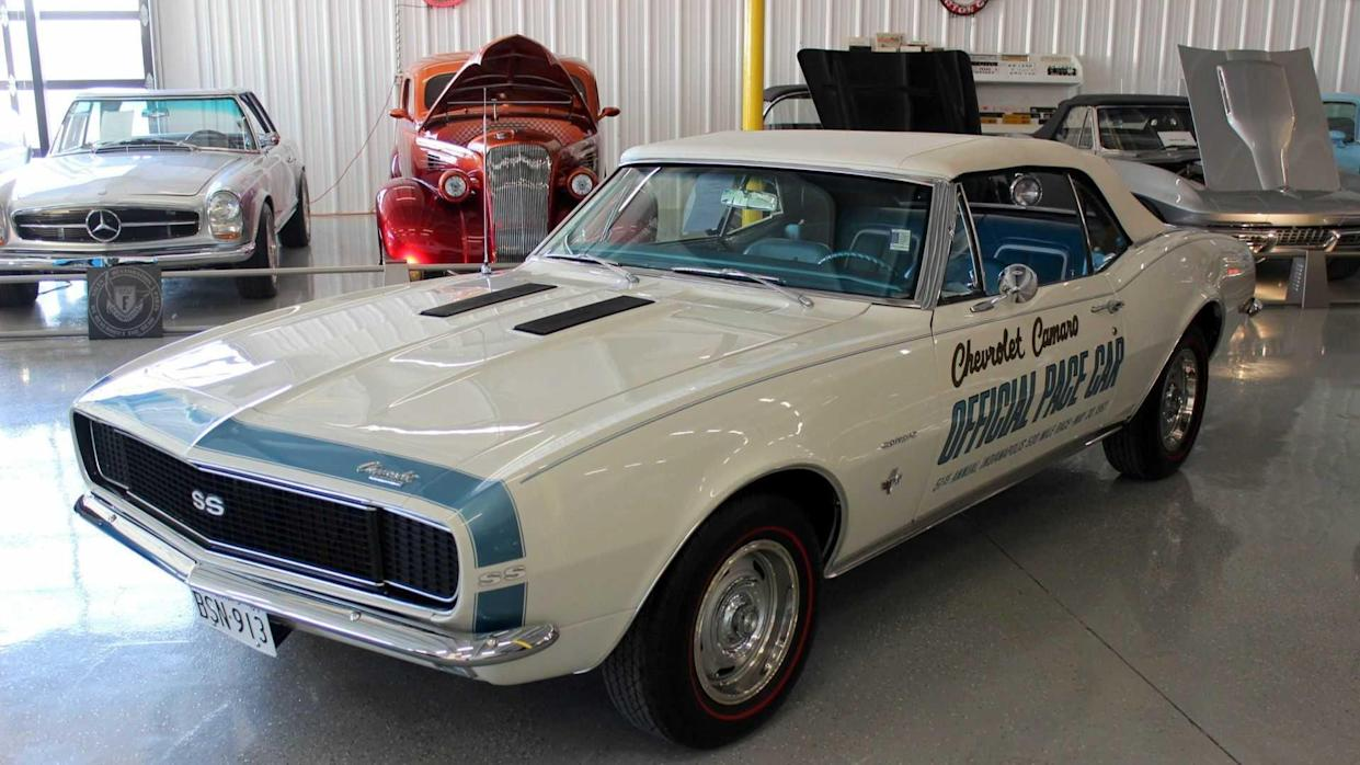 1967 Chevy Camaro Convertible Indy 500 Pace Car Up For Grabs