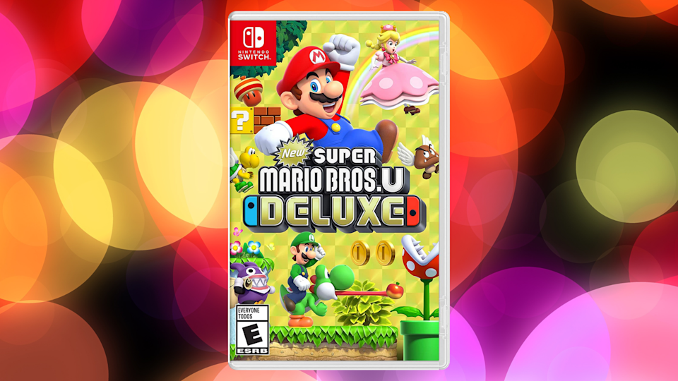 New Super Mario Bros. U Deluxe for Nintendo Switch is on sale for only $45. (Photo: Amazon)