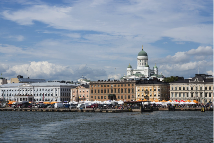 <p>Finland's Capital Helsinki ranks 9<sup>th</sup> in the list, and is Europe's second highest entry. It scored 95.6, including perfect scores for stability and healthcare. (Rex features) </p>