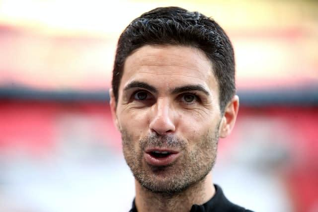 """Arteta said the wage cuts were the """"right thing"""" for the club (Adam Davy/PA)"""
