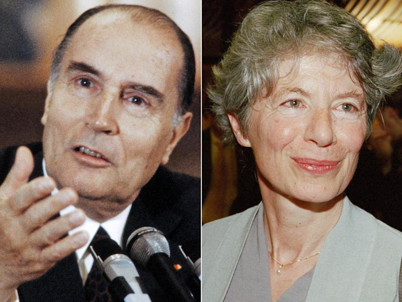 Francois Mitterand had a daughter with Anne Pingeot in 1974 - a fact he kept secret until 1994 (Getty Images; Corbis)