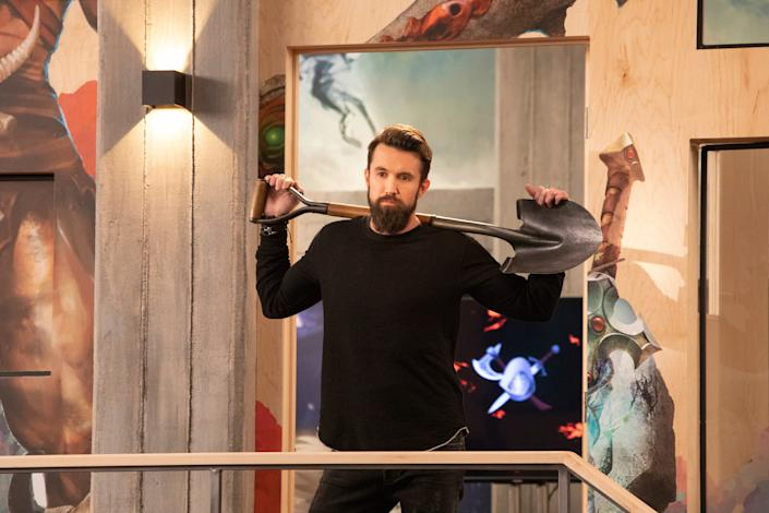 """Rob McElhenney in """"Mythic Quest: Raven's Banquet."""""""